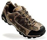 [C O L U M B I A] コ ロ ン ビ ア トレッキングシューズ 登山靴 ローカット スニーカー 透湿 本革 (EUR43(26.5cm), BROWN) [並行輸入品]