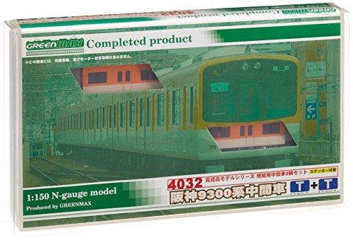 Nゲージ 4032 阪神9300系 増結中間2輛 (塗装済完成品)