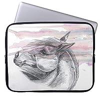 UDDESIGN馬頭部1の袖 11.6インチ ラップトップスリーブ 撥水 ノートパソコンケース Microsoft 12.3 Surface Pro 4/ Apple 11 MacBook Air用