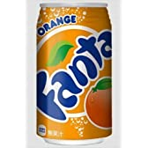 ファンタオレンジ 350ml缶×24本 【2ケース】
