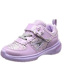 [シュンソク] 運動靴 通学履き 瞬足 軽量 シンデレラフィット 15~24.5cm D キッズ 女の子