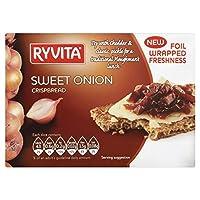 Ryvita Sweet Onion Crispbread (200g) Ryvita甘いタマネギのクリスプブレッド( 200グラム)