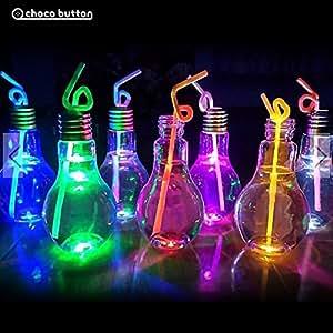 電球ボトル400ml×4個セット LEDボトル