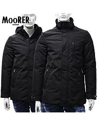 (ムーレー) MooRER ダウンジャケット フード付き ブラック サイズ50 GANITE-FX NERO [並行輸入品]