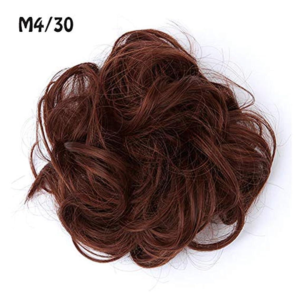ケーブルカー割り込み封筒ポニーテールシニョンドーナツアップリボンアクセサリー、乱雑な髪のお団子シュシュの拡張機能、女性のためのカーリー波状の作品