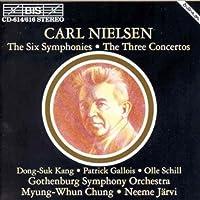 Nielsen: Symphonies Nos. 1-6 - Violin Concerto - Flute Concerto - Clarinet Concerto by Gothenburg Symphony Orchestra (1994-10-12)