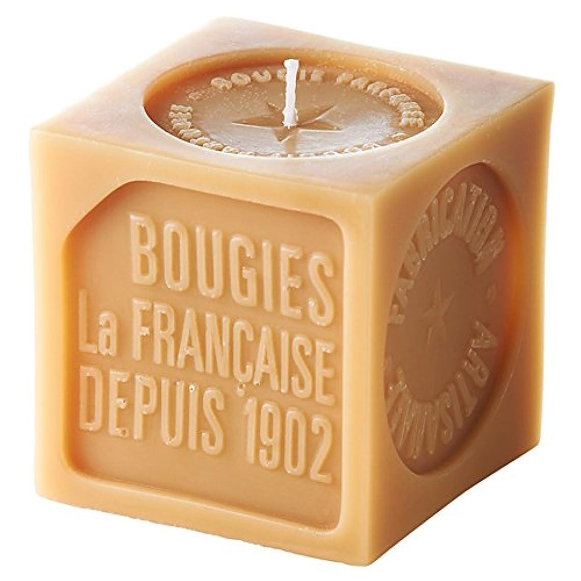 シェルターからトークブジ?ラ?フランセーズ ソープキャンドル オリーブグリーンの香りフランス製