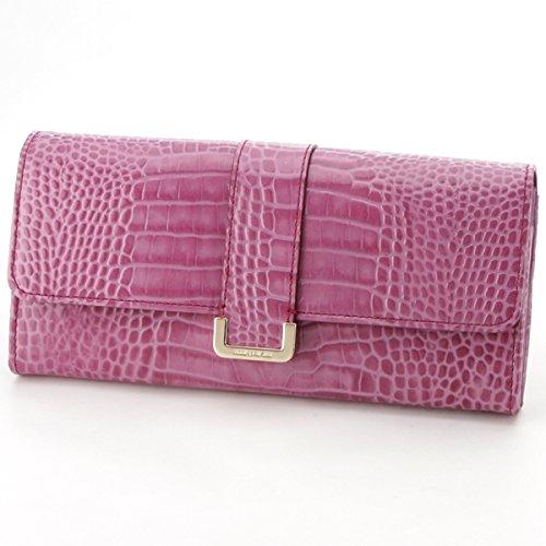 コムサデモード・サック(COMME CA DU MODE SACS) 財布(かぶせ長財布)【パープル/1サイズ】