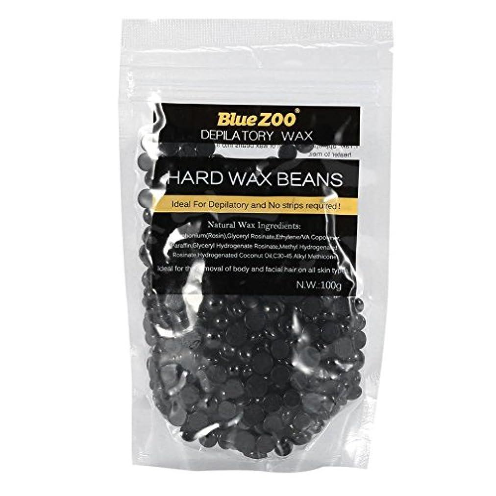 カブ奇跡的な咽頭ワックス豆 100g ストリップ 腕 脚 脱毛ハードワックス 10色選択