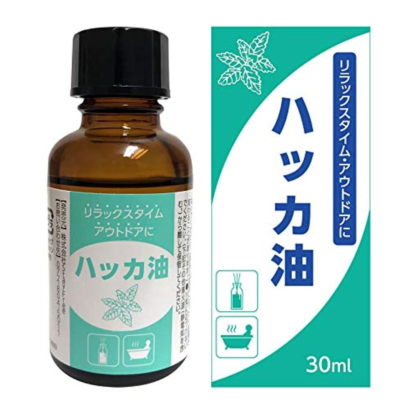 脈拍定刻ためにハッカ油 30ml 天然 ハッカオイル 原液 アロマ アウトドア お風呂 (30ml(単体))