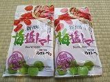 ヤマサン 沖縄美健 新食感 塩トマト 沖縄の海塩 ぬちまーす使用 120g