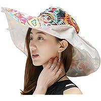 FakeFace レディース 帽子 UVカット ファッション アウトドア用品 サンバイザー 紫外線対策 日よけ帽子 女性 ビーチ ケープ 日焼け止め カジュアル 折り畳み ぼうし リバーシブル