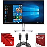 Dell S2419H S Series 24-Inch IPS LED FHD Monitor 1920 x 1080, 60Hz Refresh Rate, 5ms Response Time, 16:9 Aspect Ratio Bundle with McAfee Antivirus 1-Year