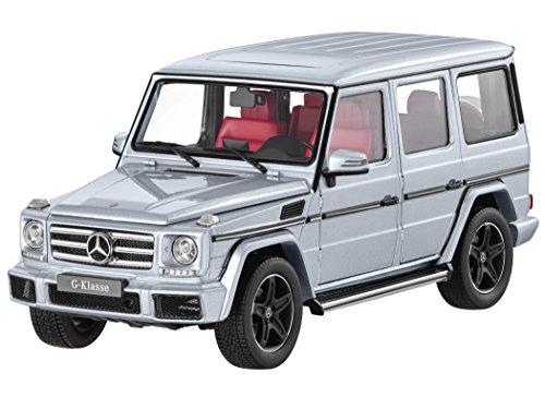 【Mercedes-Benz Collection】 Gクラス 1:18 ダイヤモンドシルバー