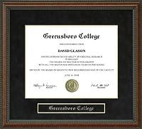 大学卒業証書Greensboroフレーム nc-greensboro-91-burl