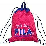 フィラ FILA(フィラ) プールバッグ ビーチバッグ 女の子 ガールズ ナップサック fo-fila03 ピンク