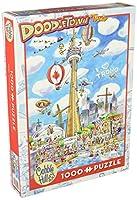 Cobblehill Puzzles 1000pc - Doodletown: Toronto