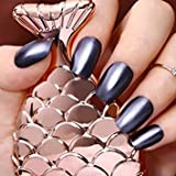 Tradico®9ml Metallic Nail Polish Mirror Mineral Iron Born Pretty Shinning Varnish Decor