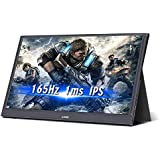 G-STORY 15.6 Inch 165Hz 144Hz 1ms IPS HDR FHD 1080P Eye Care Portable Gaming Monitor with FreeSync/G-Sync/NS Direct-Connected