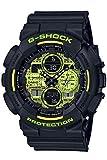 [カシオ] 腕時計 ジーショック Black and Yellow Series GA-140DC-1AJF メンズ