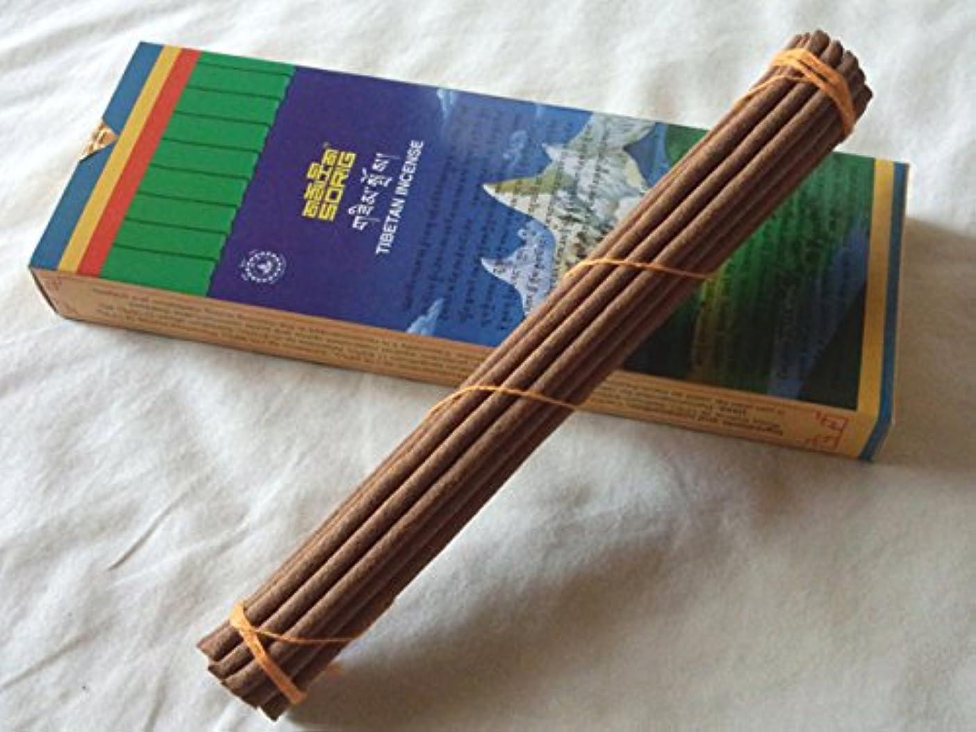 話効果郊外Men-Tsee-Khang/メンツィカンのお香-お徳用トリプル SORIG Tibetan Incense big 約20本入×3束