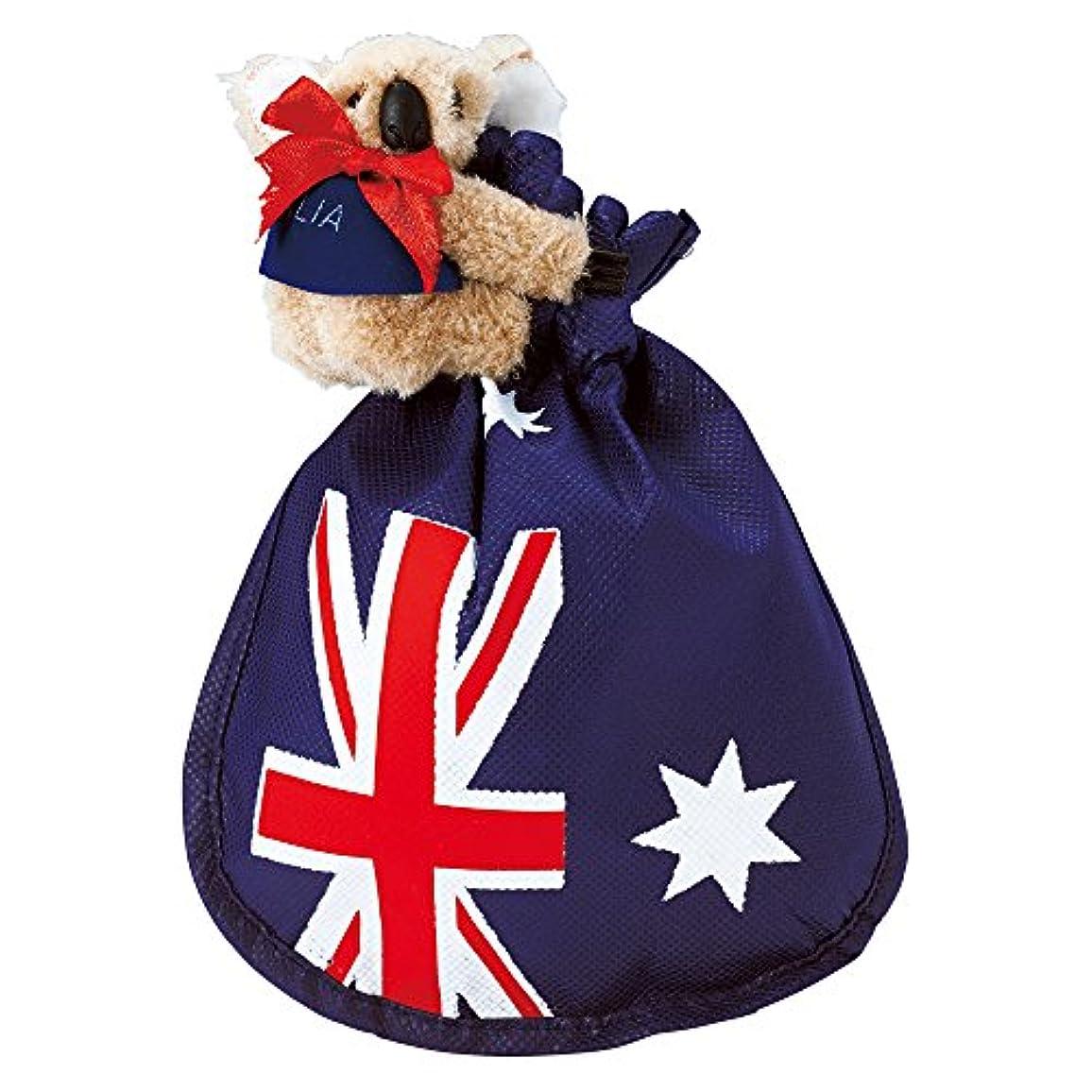 ばかげているスティーブンソン啓発するオーストラリアお土産 コアラクリップ付き マカデミアナッツ チョコレート