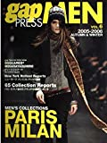 Gap press men (Vol.6(2005-2006autumn & winter)) (Gap press―COLLECTIONS) 画像