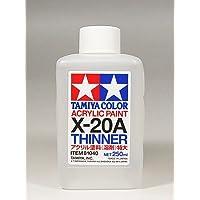 【 アクリル溶剤 特大 】 250ml アクリル塗料 TMX-20A/ タミヤ メイクアップ材 容量250m lタミヤカラー アクリル塗料のうすめ用