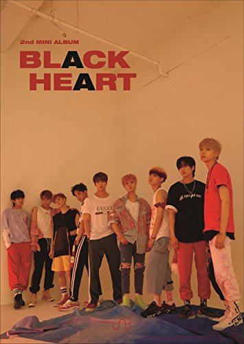 ユエンビー- BLACK HEART [BLACK ver.] (2nd Mini Album) CD+Booklet+2Photocards+Folded Poster [韓国盤]