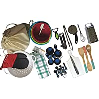 Complete Basic Kitchen Starter Set of Essential Tools and Gadgets - 32 Piece Set by Chef Craft