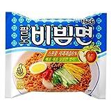 パルド ビビン 麺 10袋 paldo ビビム 輸入 韓国 食材 料理 乾麺 インスタントラーメン 辛い ラーメン 冷やし