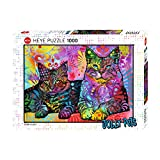 Devoted 2 Cats Puzzle: 1000 Teile