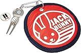 [ジャックバニー バイ パーリーゲイツ] JACK BUNNY by PEARLY GATES (ゴルフアクセサリー) ラウンド スウィーパー 262-6284120 100 (レッド)
