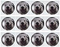 SmudgeArt犬アートデザイン–American Bulldog–グリーティングカード Set of 12 Greeting Cards
