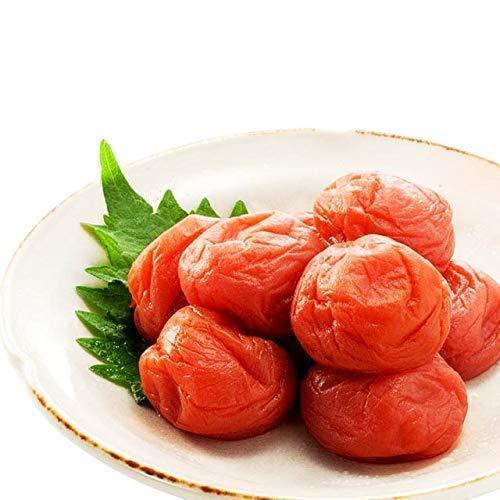 《無添加》塩と紫蘇のみで漬けたしそ漬 塩分15% 福梅ぼし (240g入)[SK-024]<90>