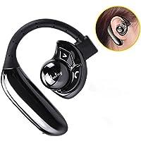 Bluetooth イヤホン 高音質 ワイヤレス ヘッドホン 無線 片耳 ブルートゥース ヘッドセット スポーツ 防汗 防滴 マイク内蔵 耳掛け イヤホン イヤーフック iPhone Android 対応