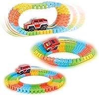 おもちゃローラーコースタートラックElectronics Toy Car Toy for Childrenカラー新しいパッキング