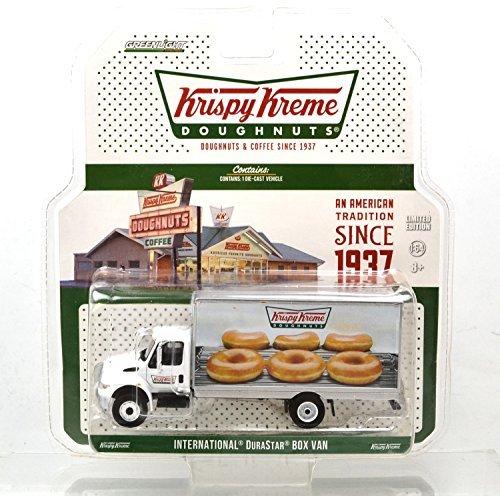 "GREENLIGHT 1:64SCALE ""INTERNATIONAL DURASTAR BOX VAN""(Krispy Kreme)  グリーンライト 1:64スケール 「インターナショナル デュラスター ボックスバン」(クリスピークリーム) ドーナツ [並行輸入品]"