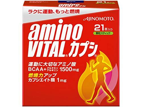 味の素 アミノバイタル カプシ 21本入箱 B003FLLE42 1枚目