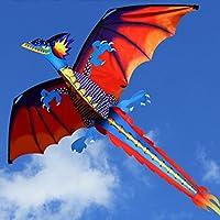 Manyao アウトドア100mカイトラインを飛ぶ大人の凧のための尾の新しい3Dのドラゴンカイト