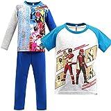 (バンダイ)BANDAI ルパンレンジャーVSパトレンジャー 光るパジャマ 半袖 長袖 2トップス【2415784】