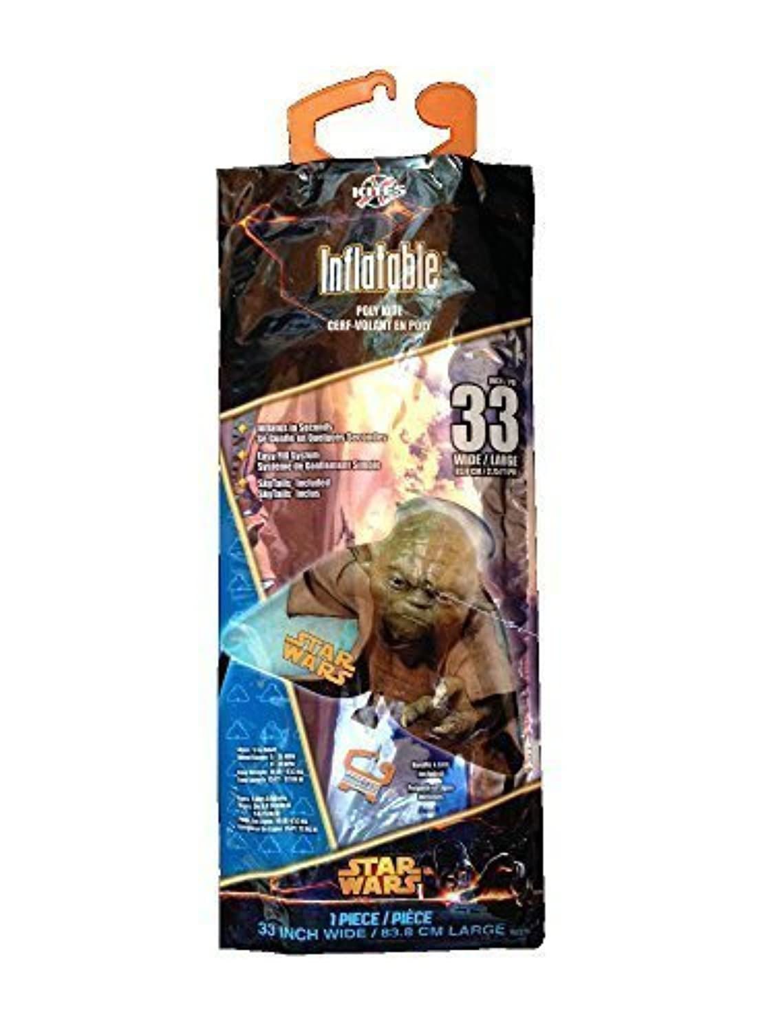 Star Wars Yoda Inflatable 33-inch wide Poly Kite SkyTails [並行輸入品]