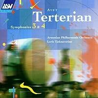 Terterian: Symphonies 3 & 4