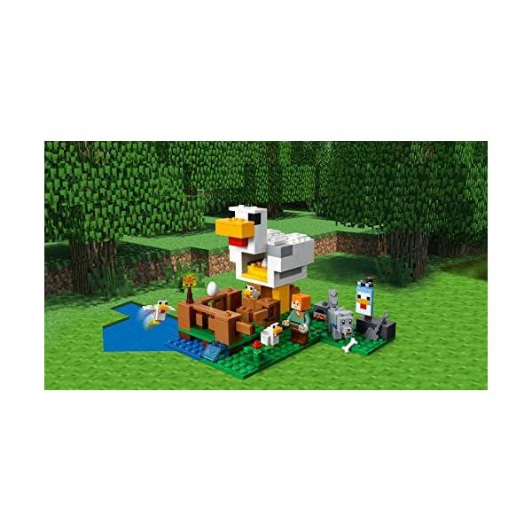 レゴ(LEGO) マインクラフト ニワトリ小屋...の紹介画像3