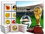DA CHOCOLATE キャンディスーベニア FIFAワールドカップロシア2018 チョコレートギフトセット 13x13cm 1箱 (カップ)