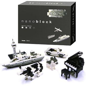ナノブロック モノトーン
