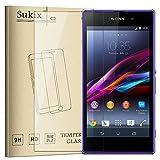 Sukix ガラスフィルム Sony Xperia Z1 SO-01F/SOL23 対応