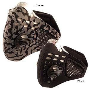 レスプロ RESPRO 大きいパワバルブ装備 メッシュ仕様 スポーツモデル スポーツタマスク ブラック L