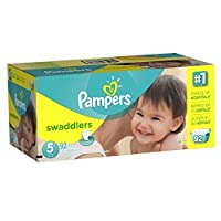Pampers Swaddlers Diapers Size 5 Giant Pack 92 Count by Pampers [並行輸入品]