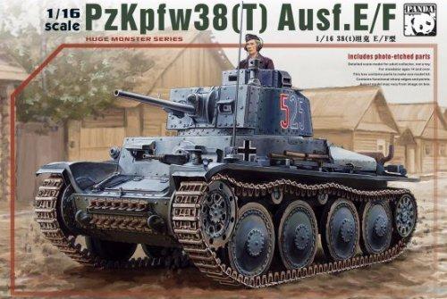 パンダホビー 1/16 ドイツ38(t)戦車 E/F型【PH16001】